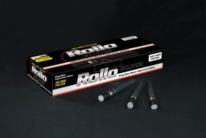 Black Cigarette Tubes Rollo Eclipse 100 CT