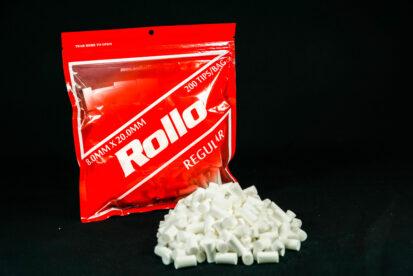 Cigarette Rolling Paper Filter Tips Regular Rollo Red 8MMx 20MM