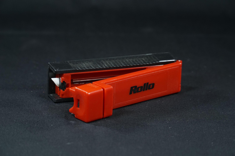 Cigarette Tube 8.1mm Dia Manual Rolling Machine Rollo Red