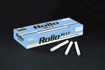Cigarette Tubes Rollo Blue 50 CT 25mm filter length