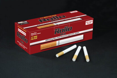 Cigarette Tubes Rollo Red 200 CT 17mm filter length