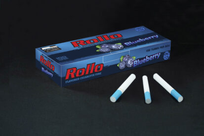 Flavoured Cigarette Tubes Rollo Blueberry 100 CT