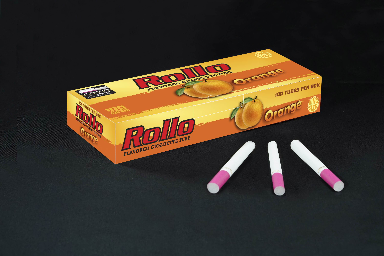 Flavoured Cigarette Tubes Rollo Orange 100 CT