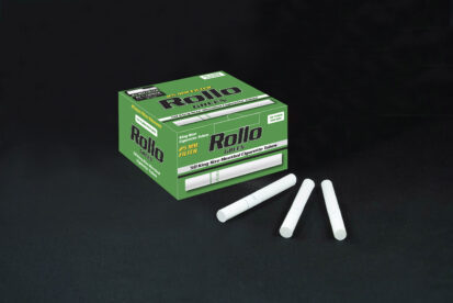 Menthol Cigarette Tubes Rollo Green 50 CT 25mm filter length