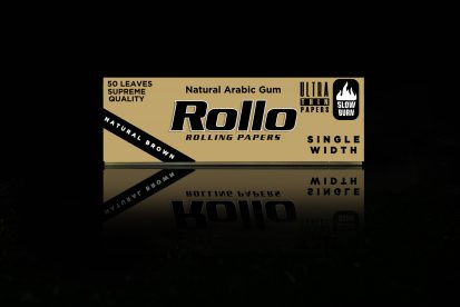 Rolling Papers, Natural Brown, Single Width 36 x 70