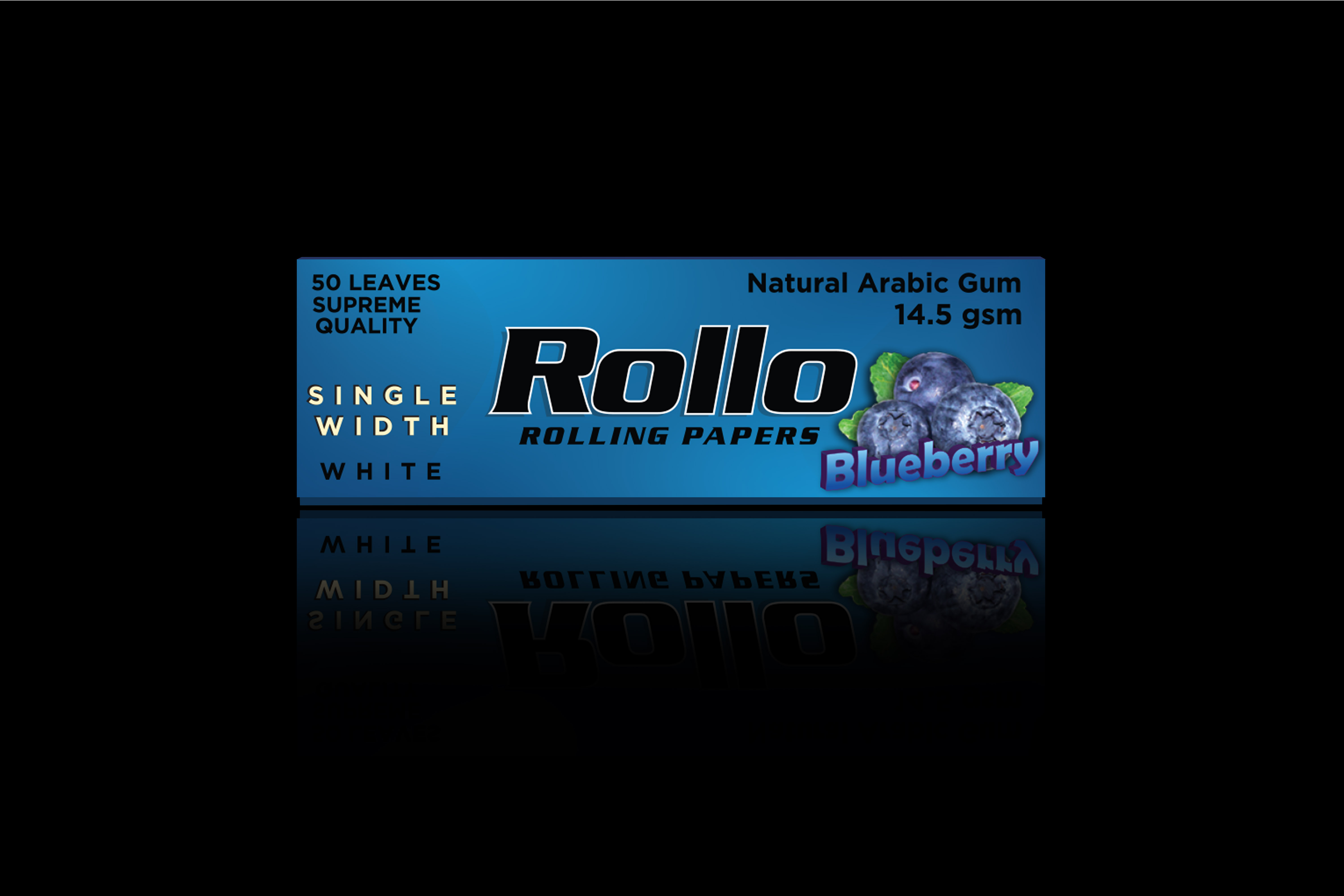 Rolling Papers, Blueberry, Single Width 36 x 70