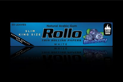 Rolling Papers, Blueberry, Slim King Size 44 x 110
