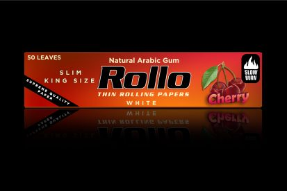 Rolling Papers, Cherry, Slim King Size 44 x 110
