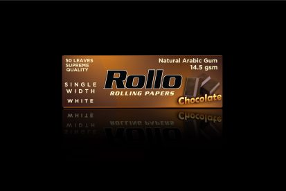 Rolling Papers, Chocolate, Single Width 36 x 70