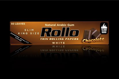 Rolling Papers, Chocolate, Slim King Size 44 x 110