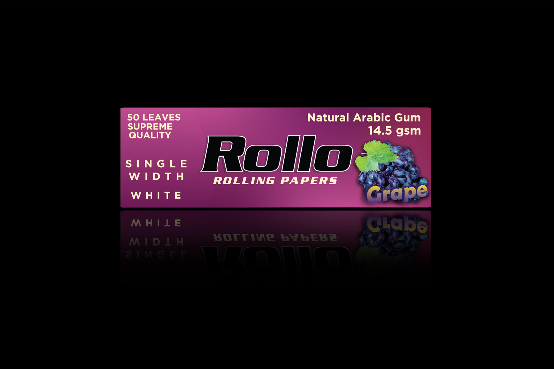 Rolling Papers, Grape, Single Width 36 x 70