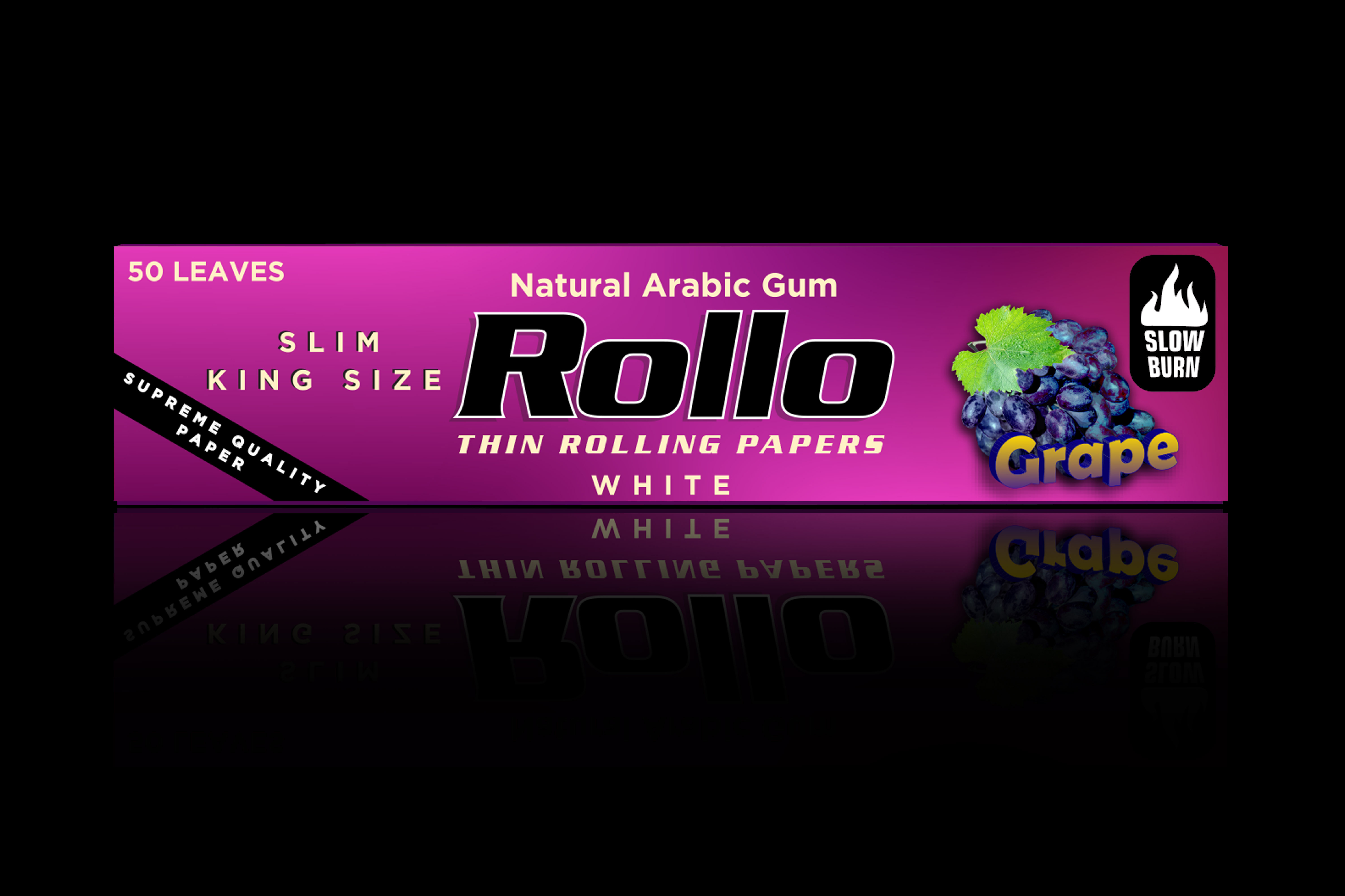 Rolling Papers, Grape, Slim King Size 44 x 110