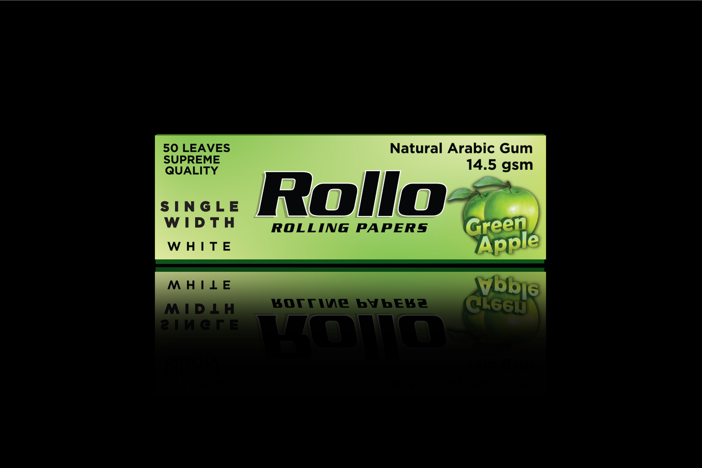 Rolling Papers, Green Apple, Single Width 36 x 70