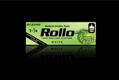 Rolling Papers, Green Apple, Spanish 1 1/4 44 x 78