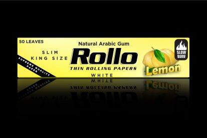 Rolling Papers, Lemon, Slim King Size 44 x 110