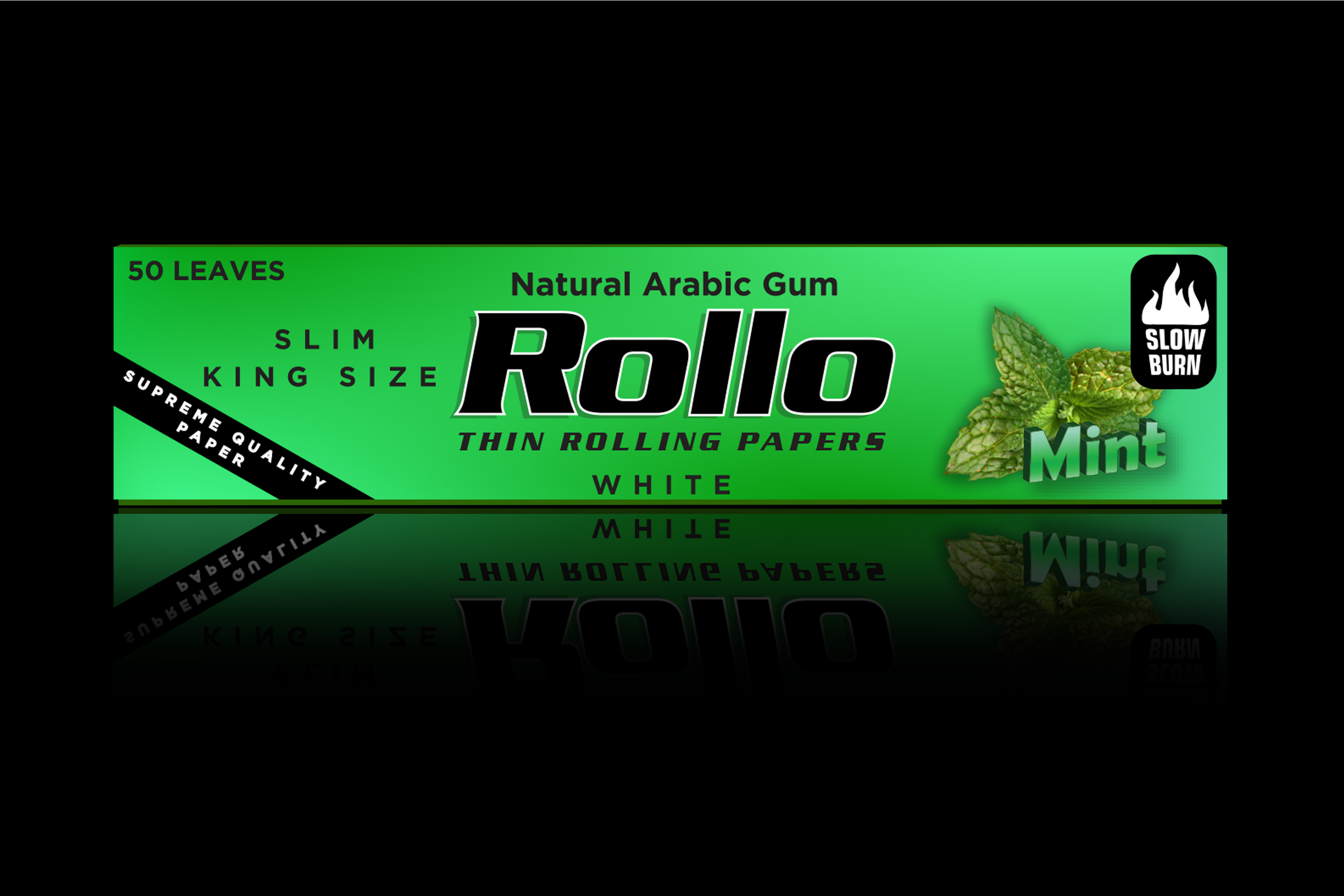 Rolling Papers, Mint, Slim King Size 44 x 110