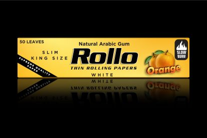 Rolling Papers, Orange, Slim King Size 44 x 110
