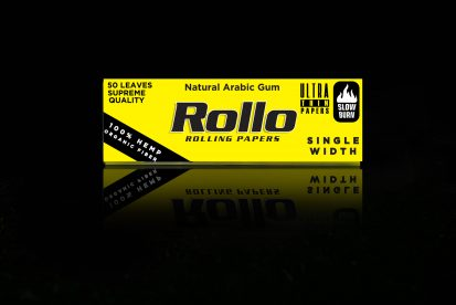 Rolling Papers, Organic Hemp Fiber, Single Width 36 x 70