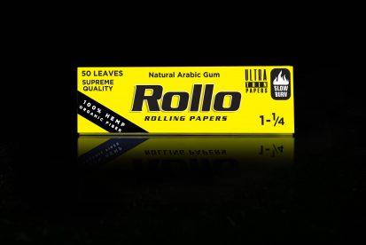 Rolling Papers, Organic Hemp Fiber, Spanish 1-1/4, 44 x 78