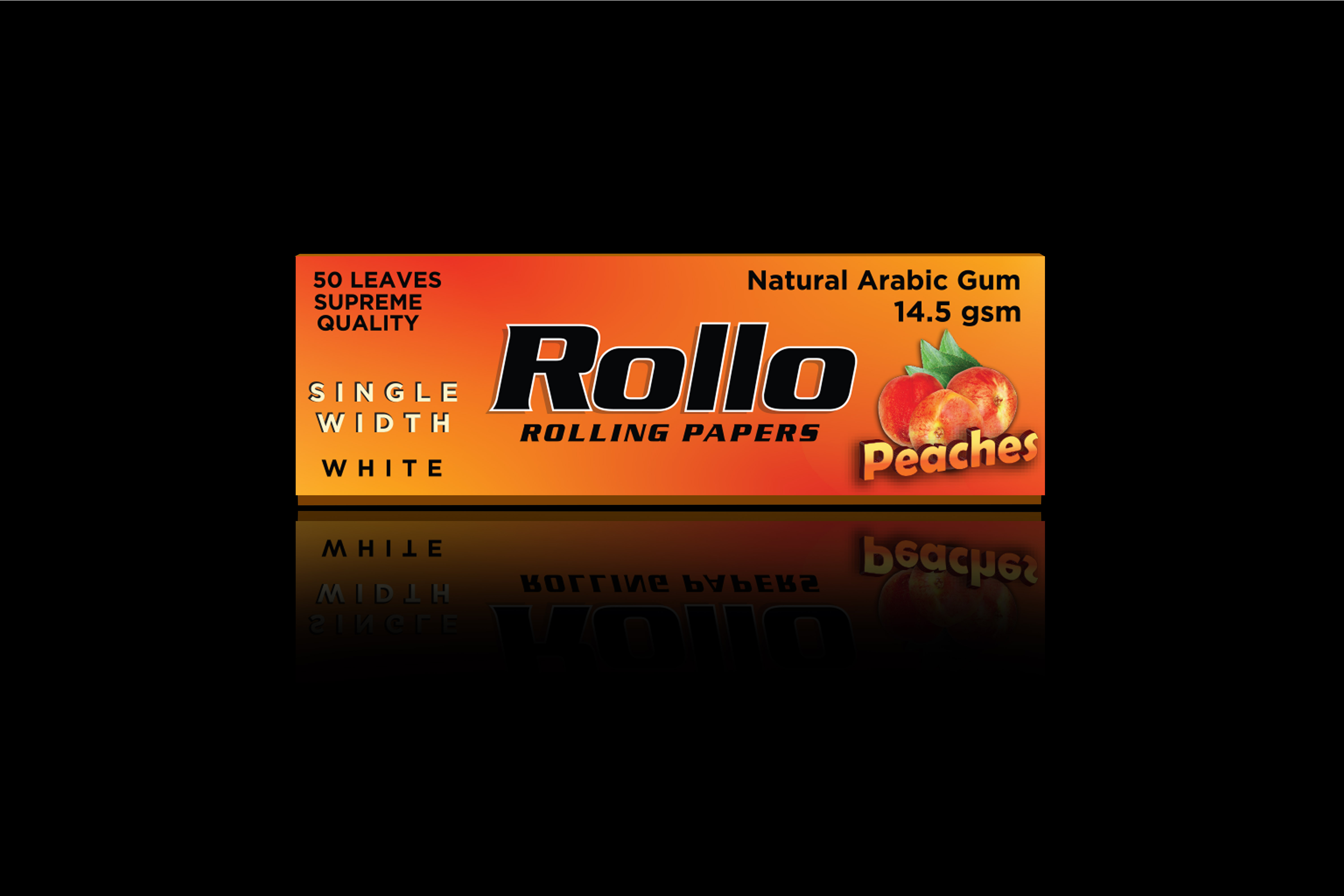 Rolling Papers, Peaches, Single Width 36 x 70
