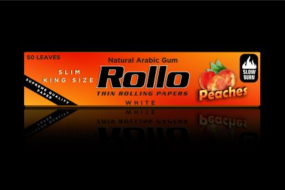 Rolling Papers, Peaches, Slim King Size 44 x 110
