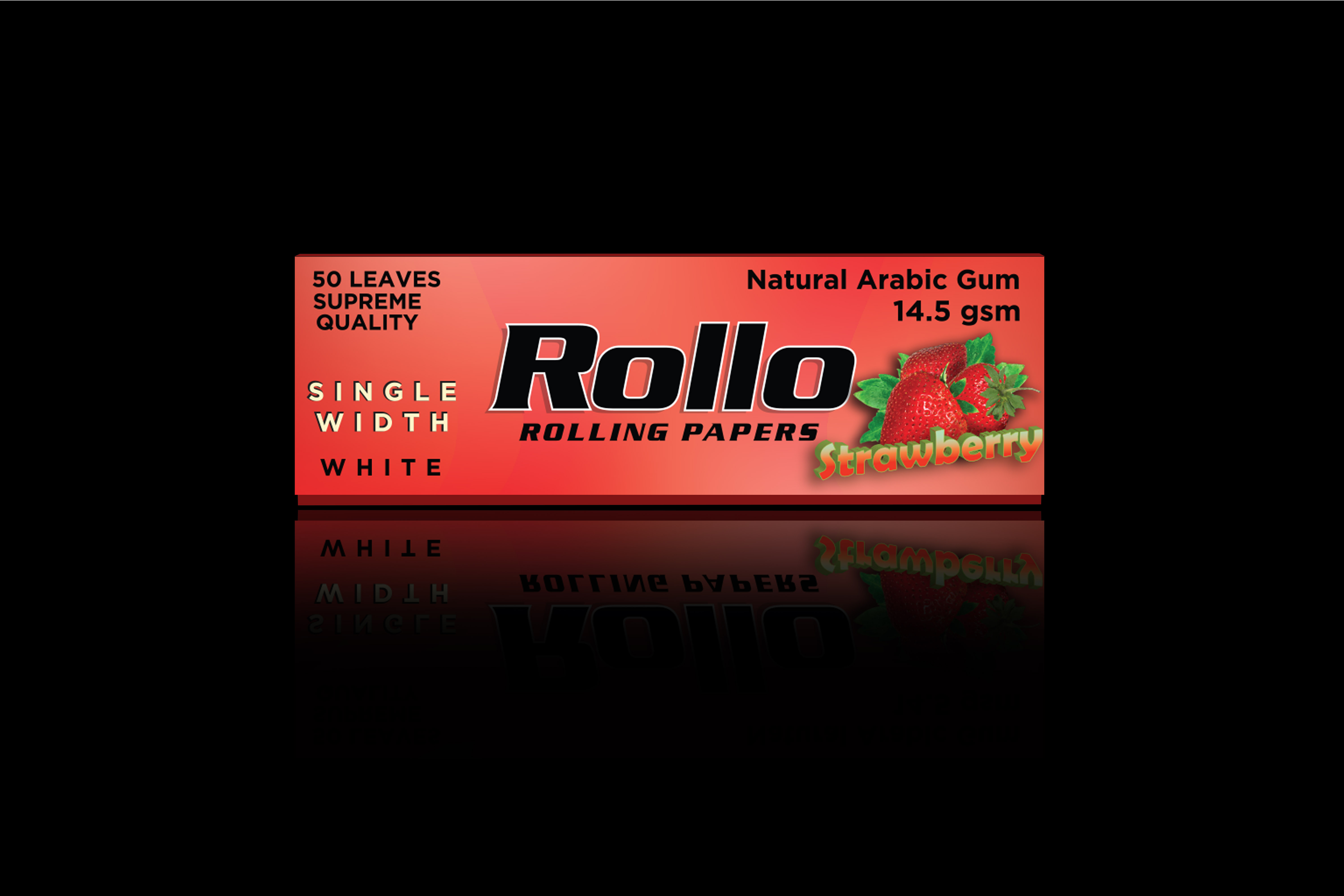 Rolling Papers, Strawberry, Single Width 36 x 70