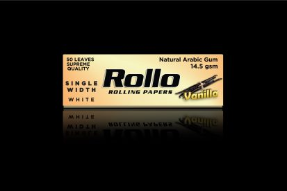 Rolling Papers, Vanilla, Single Width 36 x 70