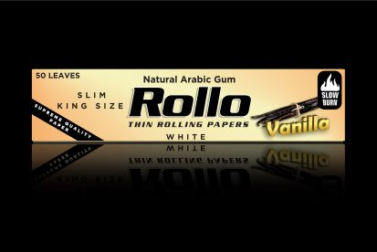 Rolling Papers, Vanilla, Slim King Size 44 x 110