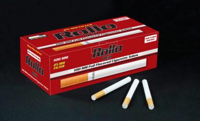 Cigarette Tubes 100mm Rollo Red 200ct