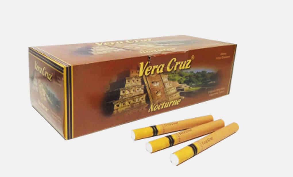 The Vera Cruz cigarette tubes