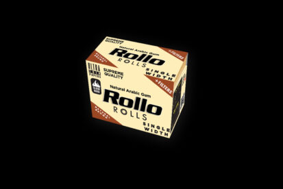 Rollo Natural Brown Rolls Single Width 36mm