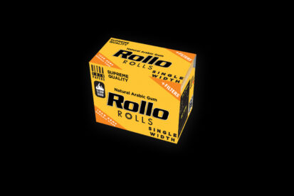 Rollo Organic Hemp Fiber Rolls Single Width 36mm