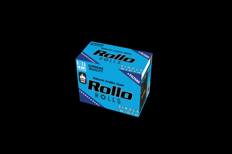 Rollo Transparent Rolls Single Width 36mm
