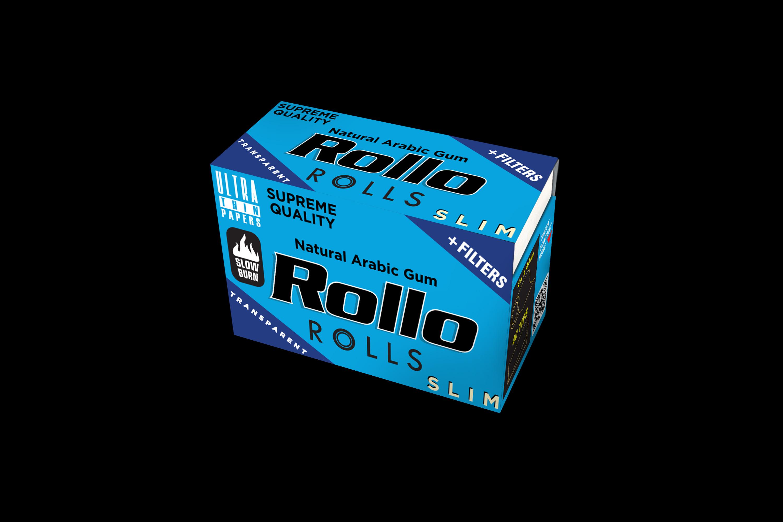 Rollo Transparent Rolls Slim 44 mm