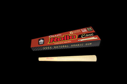 Rollo Natural Brown 84mm 6ct