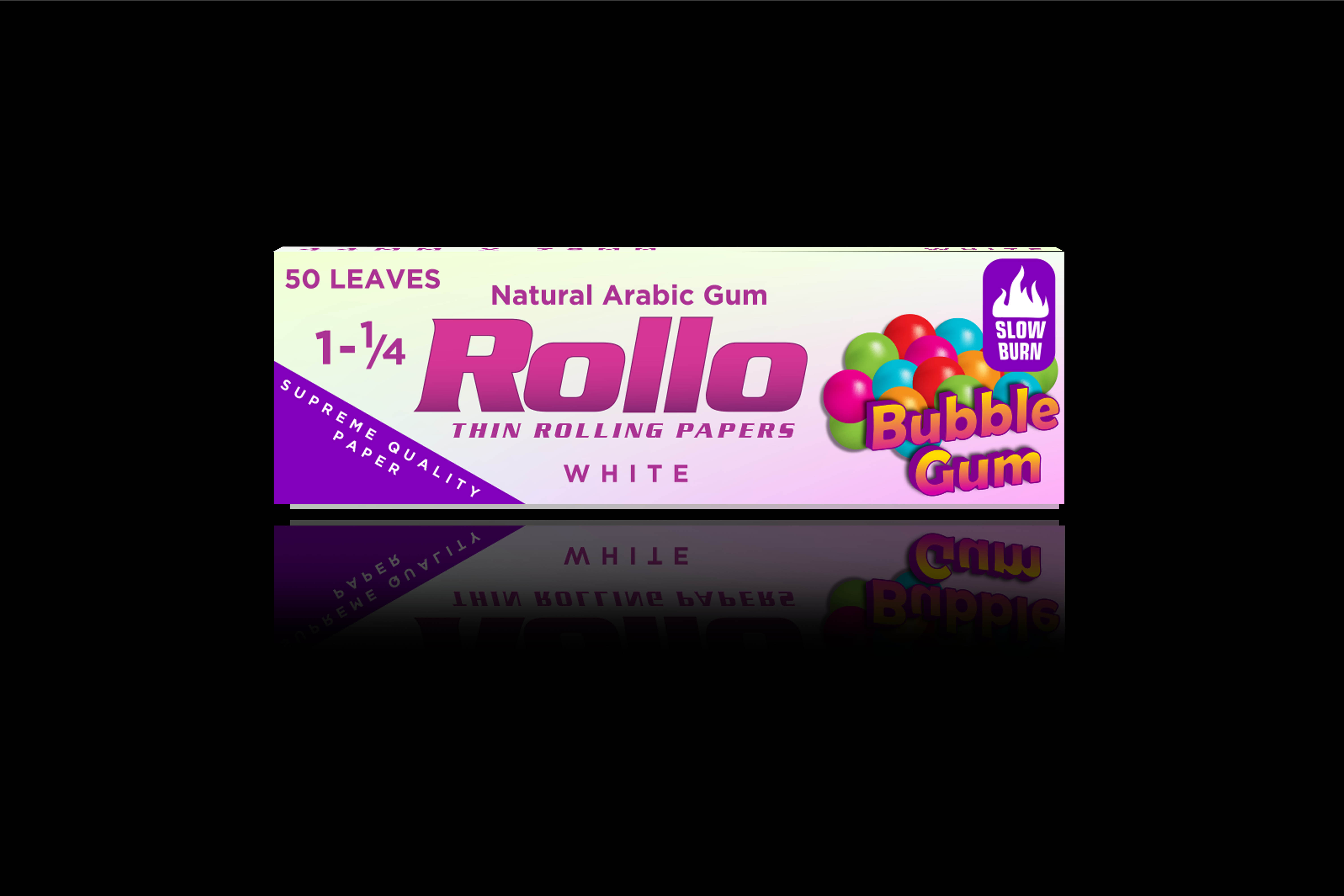 Rolling Papers, Bubble Gum, Slim King Size 44 x 78